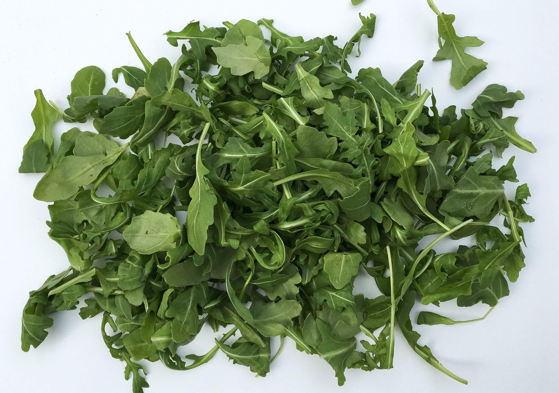 arugula, arugula salad, lettuce, salad, fall, fall salad, butternut squash, rice, cashews