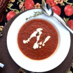 Roasted Red Pepper & Tomato Basil Soup