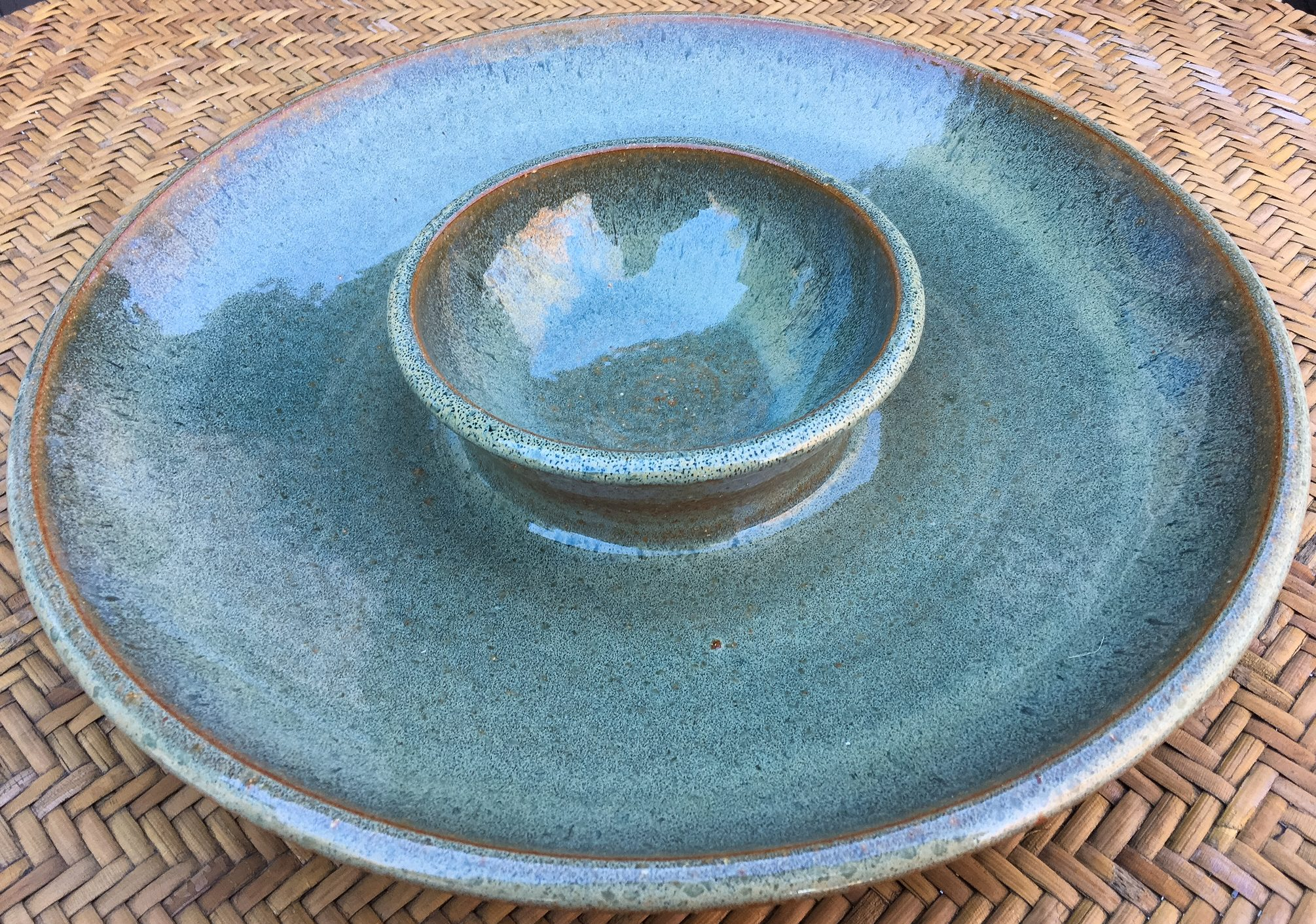 ceramic, chip and dip, guacamole, ceramic bowl, ceramics, handmade