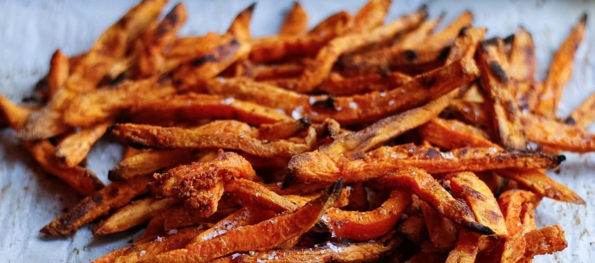 Crispy Sweet Potato Fries + 2 Dipping Sauces