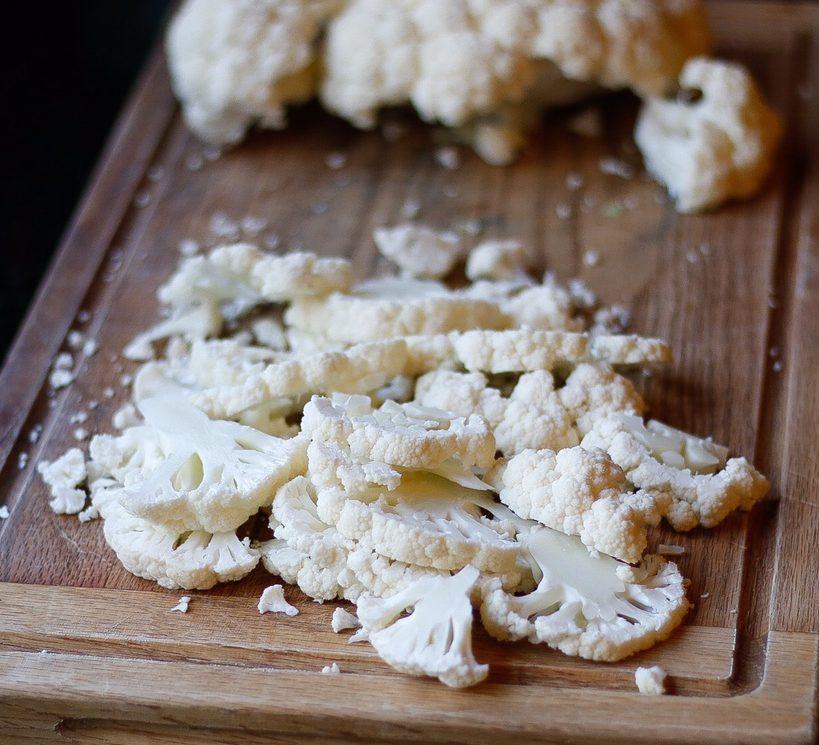 fettuccine alfredo, alfredo, vegan alfredo, vegan fettucine alfredo, alfredo pasta, cauliflower, roasted cauliflower