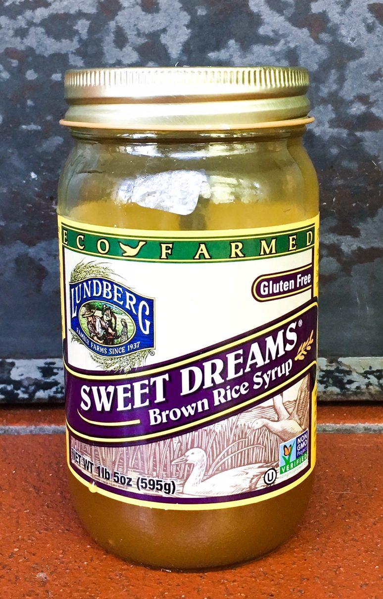 brown rice syrup, low glycemic sweetener, pecan pie bars