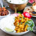 Chickpea and Potato Curry - Chana Aloo
