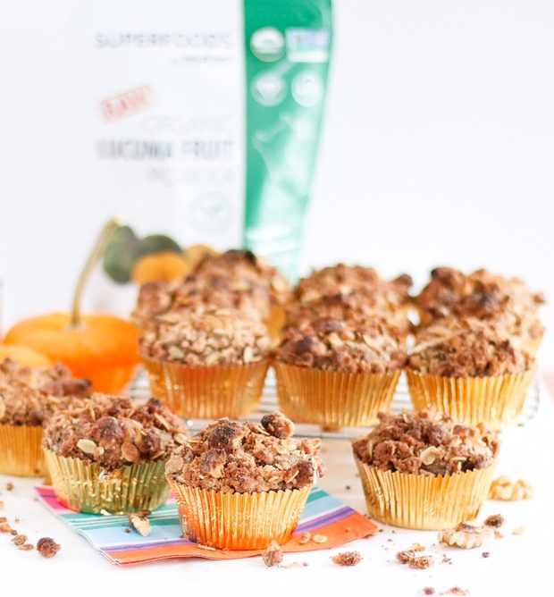 sweet potato crumb muffins, sweet potato muffins, crumb muffins, walnut muffins, walnut crumb muffins