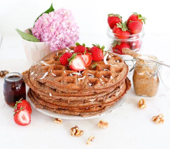 freezer waffles, protein waffles, freezer protein waffles, waffles