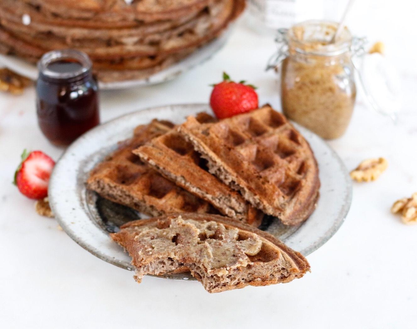 freezer waffles, freezer protein waffles, protein waffles, waffles