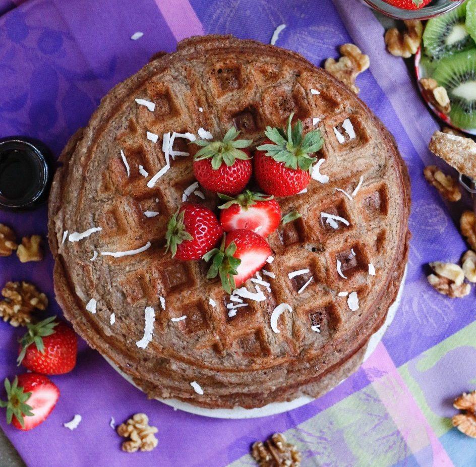 freezer waffles, protein waffles, protein superfood waffles, freezer protein waffles, waffles