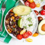 Zesty Black Beans and Cilantro Lime Rice