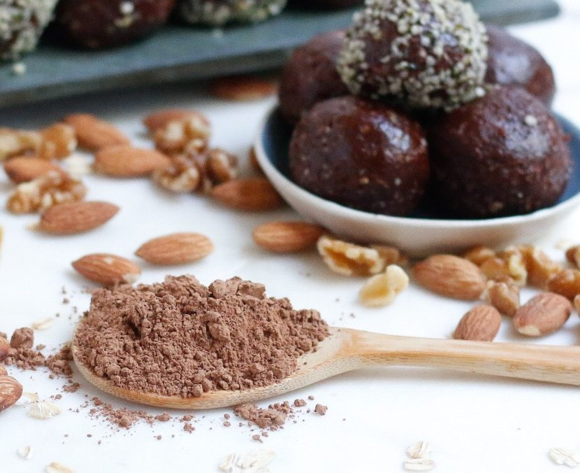 cacap, cacao nut energy balls, energy balls, chocolate energy balls, cacao energy balls, vegan energy balls