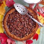 Pecan Pie {vegan, reduced sugar, no corn syrup}